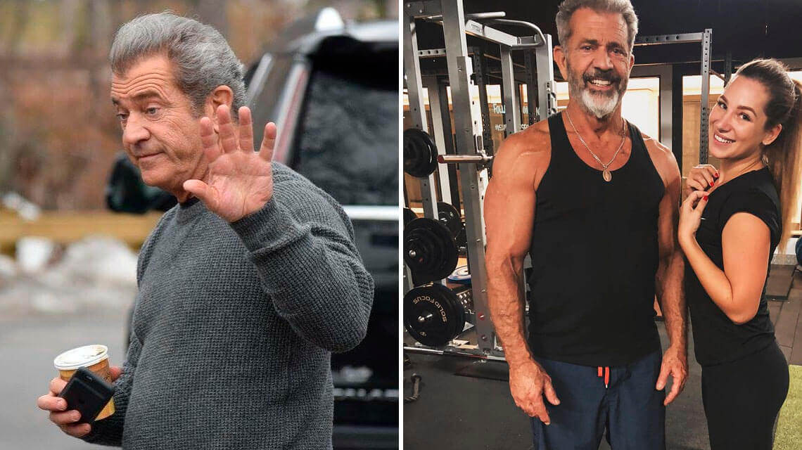 How a chance helped Mel Gibson lose 14kg in 8 weeks