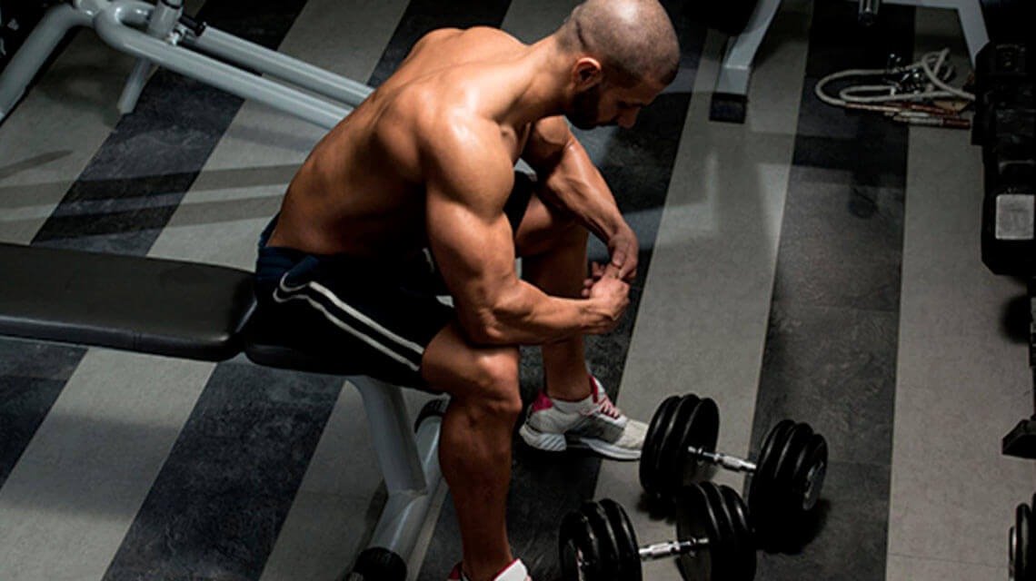 Longer rest periods between sets to greater your gains