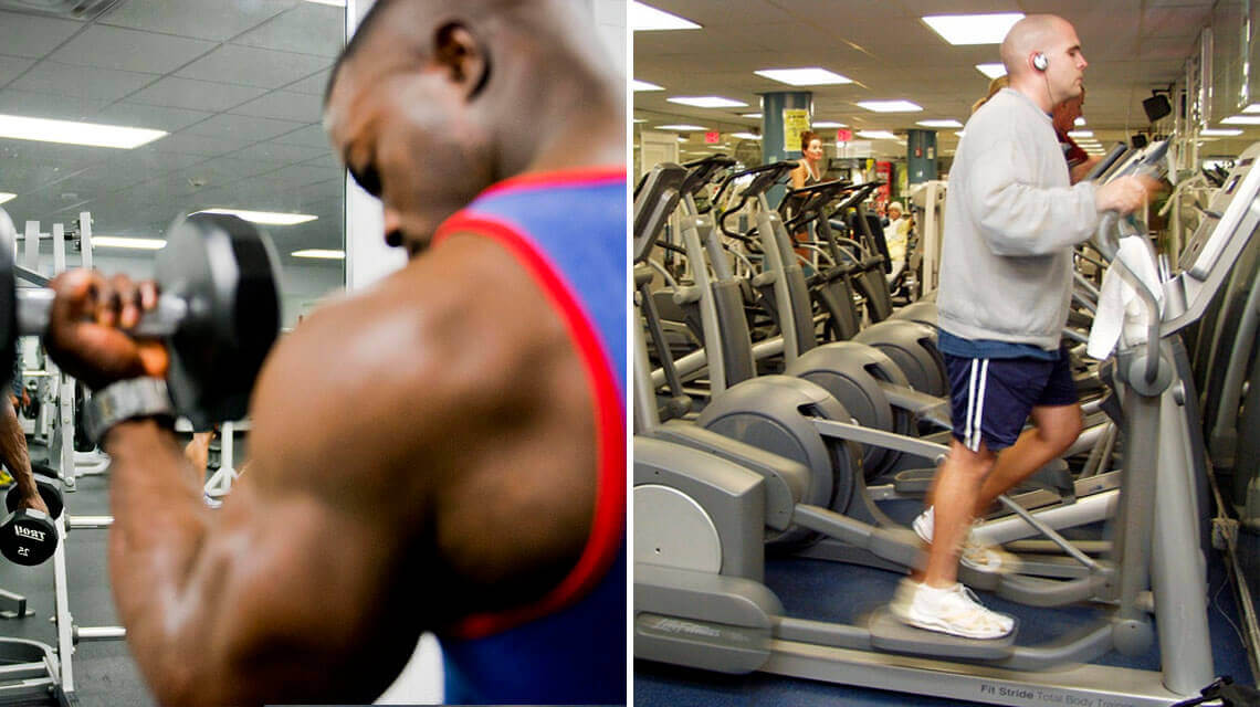 Strength training and cardio exercise produce the amount of one and the same hormone differently